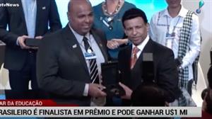 Em Dubai, brasileiro é finalista do prêmio tido como o 'Oscar' da Educação