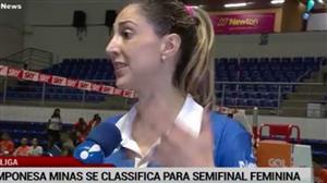 Camponesa Minas se classifica para a semifinal da Superliga
