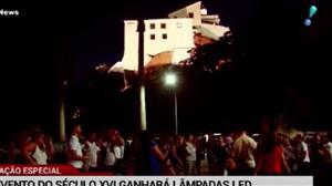 Convento da Penha, em Vila Velha, terá iluminação 'monumental'