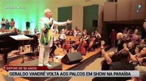 Após 50 anos, Geraldo Vandré volta aos palcos em show na Paraíba