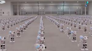 Mais de 1.300 robôs dançam juntos em Roma e quebram recorde