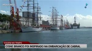 Evento reúne veleiros históricos no Rio de Janeiro