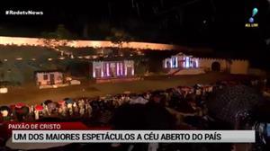 Encenação da Paixão de Cristo completa 23 anos de tradição
