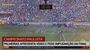 Palmeiras apresenta vídeo e pede impugnação na final do Paulistão