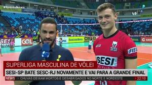 Sesi-SP bate Sesc-RJ e garante vaga na final da Superliga Masculina