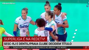 Sesc-SP sai na frente em final contra Dentil/Praia