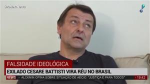 """""""É hora de devolver Battisti para a Justiça italiana"""", afirma Boris Casoy"""