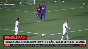 São Paulo estreia no Brasileirão com vitória magra sobre o Paraná