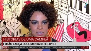 História da levantadora Fofão vira livro e documentário