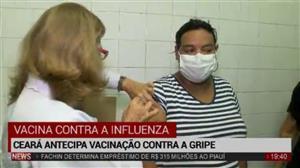 Após quatro mortes, Ceará antecipa vacinação contra a gripe