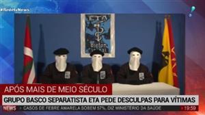 Grupo separatista ETA pede desculpas para vítimas