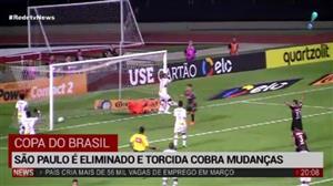 São Paulo é eliminado pelo Atlético-PR na Copa do Brasil