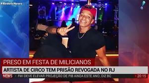 Artista de circo tem prisão revogada no Rio