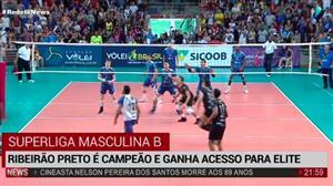 Vôlei Ribeirão bate o Itapetinga e é campeão da Superliga B masculina