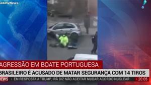 Brasileiro é acusado de matar segurança em casa noturna em Portugal