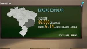 Brasil ainda enfrenta graves problemas na Educação