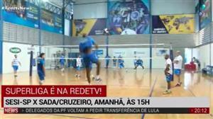 RedeTV! transmite final da Superliga Masculina neste sábado, às 15h