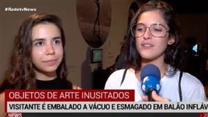 Objetos de arte inusitados fazem parte de mostra no Rio