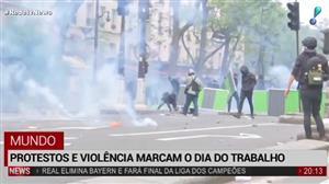 Protestos e violência marcam o Dia do Trabalho ao redor do mundo