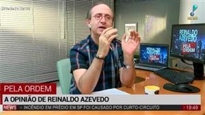 Reinaldo Azevedo: O número de vagabundos com foro especial continua enorme