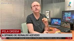"""""""Está em curso uma operação para manter Temer acuado"""", diz Reinaldo Azevedo"""