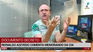 """Reinaldo Azevedo: """"Infelizmente Geisel permitiu continuidade de execuções"""""""