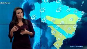 Massa de ar seco predomina em boa parte do Brasil neste domingo (13)