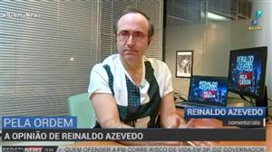 Sou contra a revisão da Lei da Anistia, diz Reinaldo Azevedo