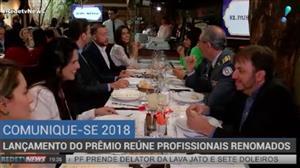 Lançamento do Prêmio Comunique-se reúne a cúpula do Jornalismo do Brasil