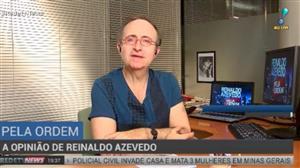 """""""O próximo governo será pior que o governo Temer"""", diz Reinaldo Azevedo"""