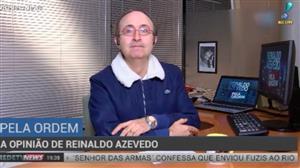 """""""Brasil caminha para uma situação melancólica"""", diz Reinaldo Azevedo"""