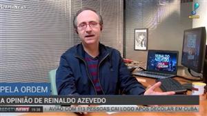 """""""Lula pode fazer campanha da cadeia"""", diz Reinaldo Azevedo"""