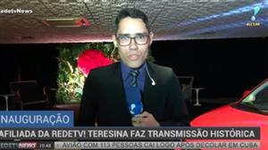 Afiliada da RedeTV! Teresina faz transmissão histórica