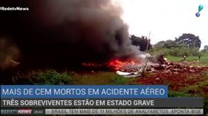 Avião com 113 pessoas a bordo cai após decolar em Cuba