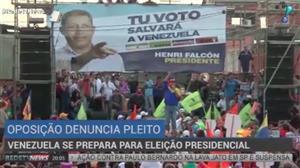 Venezuela se prepara para eleição presidencial no domingo