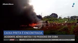 Caixa-preta de avião que caiu em Cuba é recuperada