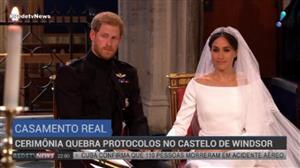Casamento Real quebra protocolos no Castelo de Windsor
