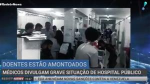 Médicos denunciam estado crítico de hospital público do Recife