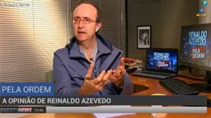 """Reinaldo Azevedo sobre preço de combustíveis: """"Essa é a política correta"""""""