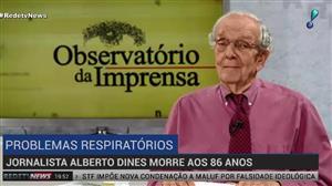 Morre o jornalista Alberto Dines aos 86 anos