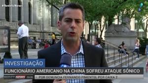Funcionário americano na China sofre ataque sônico
