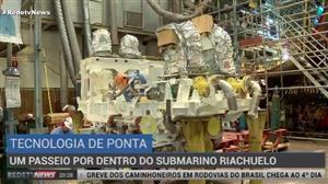 Conheça por dentro um dos cinco submarinos que o Brasil está construindo