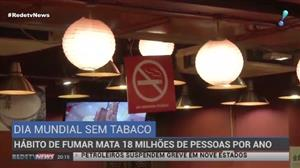 Hábito de fumar mata sete milhões de pessoas por ano no mundo