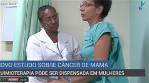 Quimioterapia pode ser dispensada para quem tem câncer de mama, diz estudo