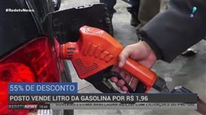Posto de São Paulo vende litro da gasolina a R$ 1,96