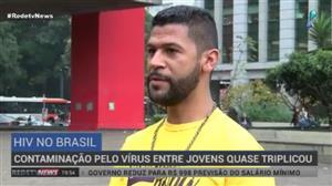 Contaminação por HIV entre jovens quase triplicou no País