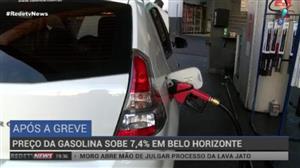 Preço da gasolina sobe 7,4% em Belo Horizonte