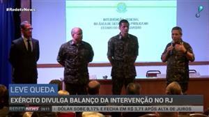 General Braga Netto faz balanço dos quase 4 meses da intervenção no Rio