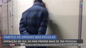 282 pessoas são presas em operação contra o tráfico de drogas na região Sul