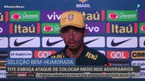 """Tite escala seleção brasileira """"ideal"""" para estreia da Copa"""